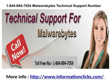 1-844-894-7054 Malwarebytes Technical Support Number