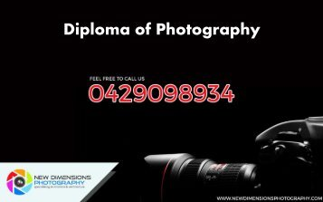 Diploma of Photography