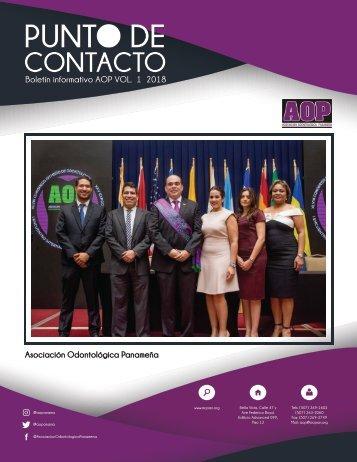 Boletín Punto de Contacto - AOP - 1a Edición 2018
