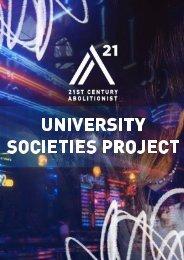 A21 University Society Project