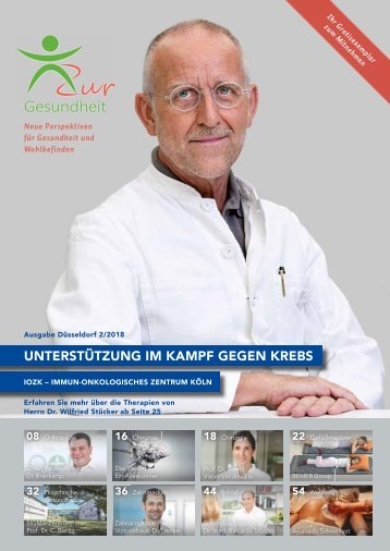 Zur Gesundheit 2018-02 Düsseldorf