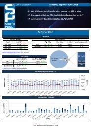 Trading Report June 2018
