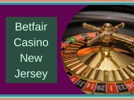 Betfair Casino New Jersey