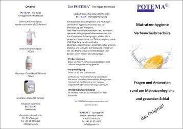 Potema - Matratzenhygiene