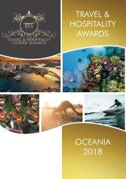 Travel & Hospitality Awards | Oceania 2018 | www.thawards.com