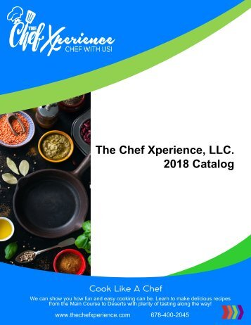 The Chef Xperience 2018 Catalog
