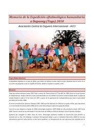 Memoria ACCI 2010