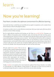 Now you're learning! by Paul Harris