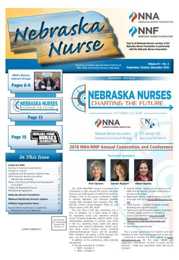 Nebraska Nurse - September 2018