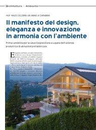 Il manifesto del design, eleganza e innovazione in ... - HUF HAUS