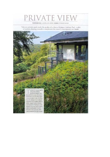 Read the article here... - HUF HAUS