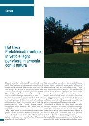 Huf Haus Prefabbricati d'autore in vetro e legno per vivere in ...