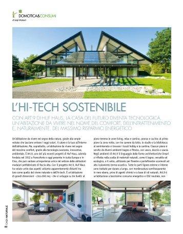 l'hi-tech sostenibile - HUF HAUS