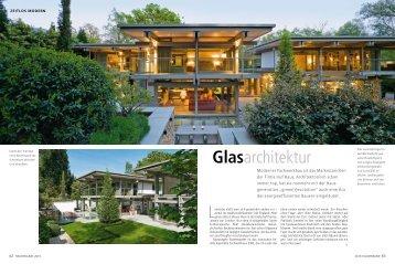 Glasarchitektur - HUF HAUS