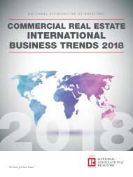 Commercial Real Estate Int'l Business Trends 2018
