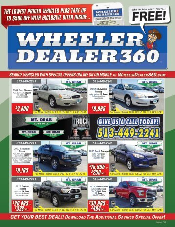 Wheeler Dealer 360 Issue 32, 2018