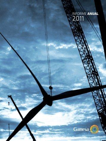 Informe anual 2011 - Gamesa