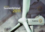 Informe de Sostenibilidad 2011 -  Gamesa