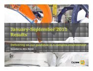 January-September 2011 Results - Gamesa