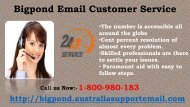 Bigpond Email Customer Service Call 1-800-980-183