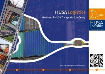 Brochure HUSA Logistics Engels