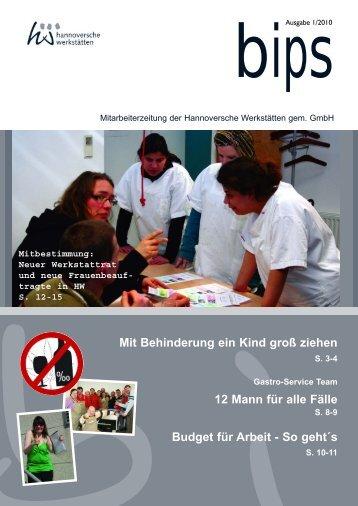bips xpress 1 2010.qxp - Hannoversche Werkstätten
