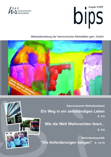 bips xpress 4 2009.qxp - Hannoversche Werkstätten