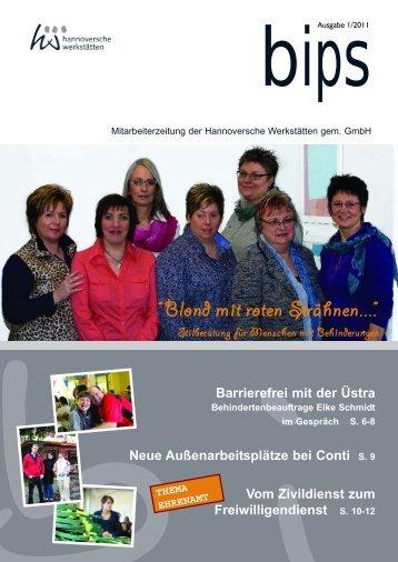 thema ehrenamt - Hannoversche Werkstätten