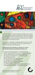 Autismus Alltags-Assistenz - Hannoversche Werkstätten - Page 2