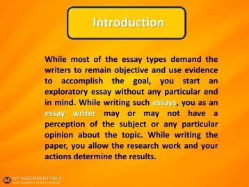 Science Essay Topic Exploratory Essay Example English Essay also Thesis Statement In An Essay Modifying The Structure Of The Fiveparagraph Essay Samples Of Essay Writing In English