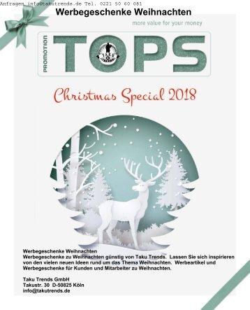 Werbegeschenke Weihnachten Katalog 2018