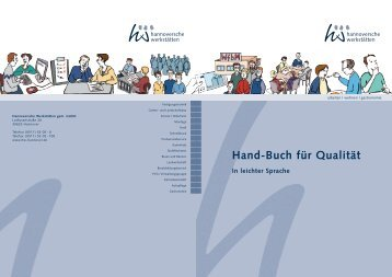 QM-Handbuch in leichter Sprache - Hannoversche Werkstätten