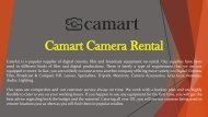 Camera on Rent in Dubai Helpline @ +971 55 4087857  Camera Rental Dubai