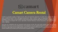 Camera on Rent in Dubai Helpline @ +971 55 4087857  Camera Rental Dubai