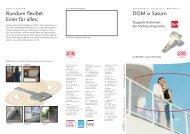 DOM ix Saturn Infobroschüre - H+W Mechatronik
