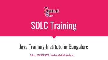Core java training in Marathahalli, Bangalore