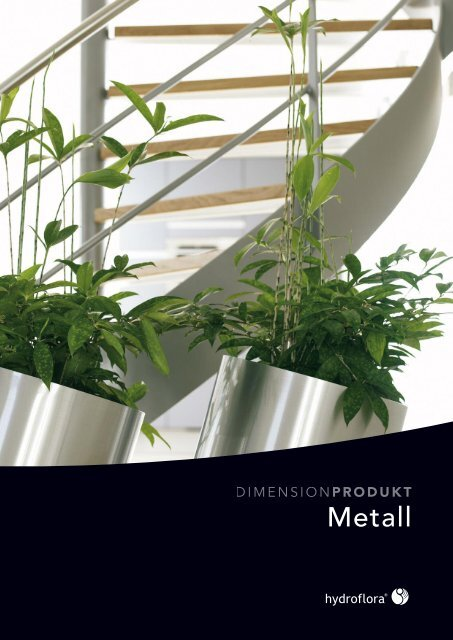 Katalog Metall - Hydroflora GmbH