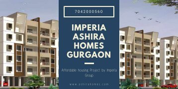 Imperia Ashira Homes Gurgaon
