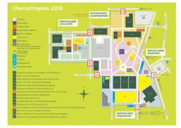 Allgäuer Festwoche 2018: Üebersichtsplan