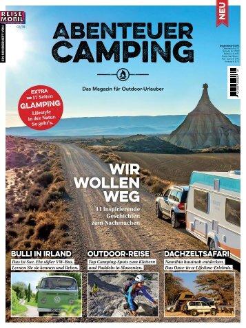 Abenteuer Camping Leseprobe
