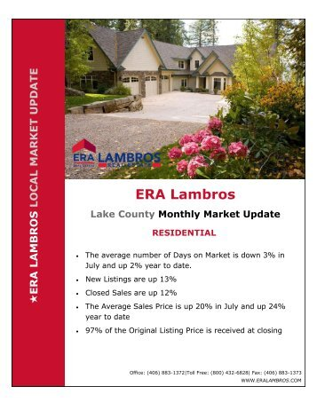 Lake County Residential Update - July 2018