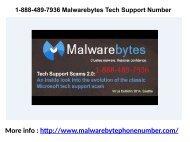 1-888-489-7936 Malwarebytes Tech Support Number