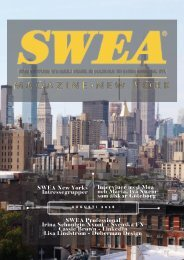 SWEA Magazine Aug18