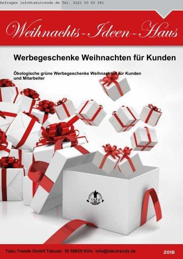 Werbegeschenke Weihnachten Katalog Weihnachtsbäume