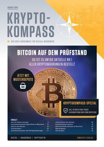 Kryptokompass Ausgabe #14 August 2018