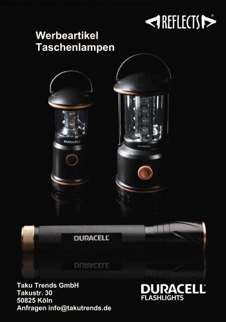 Werbeartikel Taschenlampen Duracell