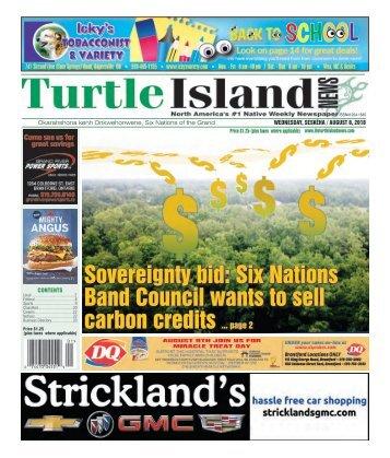 Turtle Island News - 08/08/2018