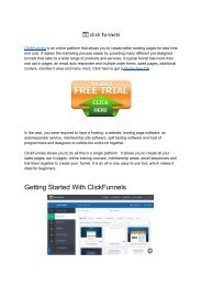 How To Set Up Clickfunnels Quick Guide - Internet Money Kings