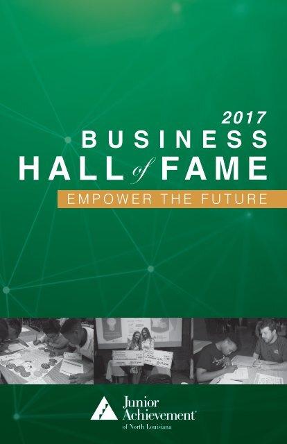 2017 BHoF program