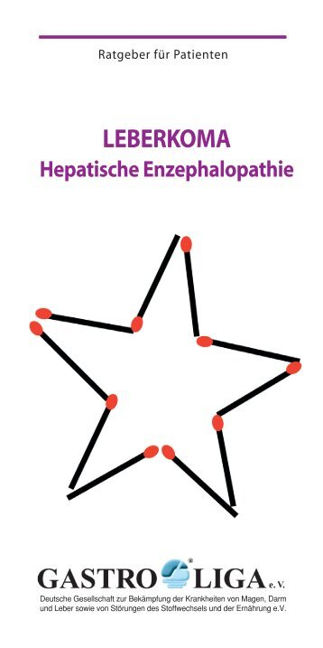 LEBERKOMA Hepatische Enzephalopathie - Gastro Liga
